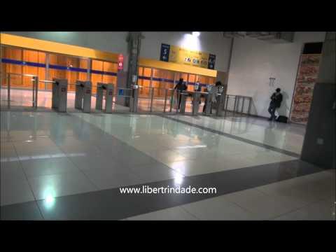Estación Central del Metropolitano ciudad de Lima