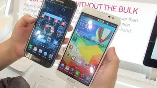 Optimus G Pro Vs Galaxy Note II *First Look*