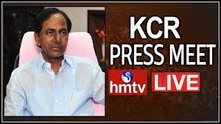 KCR Press Meet LIVE | TRS Manifesto LIVE | Telangana Bhavan Live | hmtv
