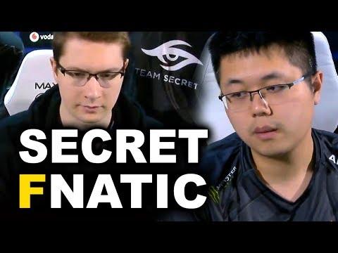 SECRET vs FNATIC - PUPPEY vs EE EPIC GAME! - ESL KATOWICE MAJOR DOTA 2