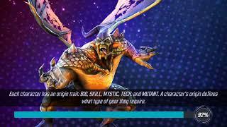 Marvel strike force-MSF-Spider-Man(Miles Morales) gameplay - December 2018