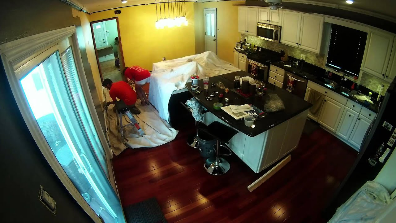 Kitchen Remodel Paintjob Gopro Timelapse Youtube
