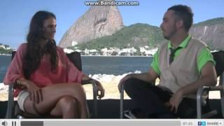 "Jordana Brewster Interview ""I still feel like a carioca"""