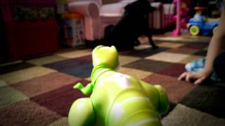 Unboxing & In-Action Toy Review: Zoomer Dino by Spin Master Toys #ZoomerDino