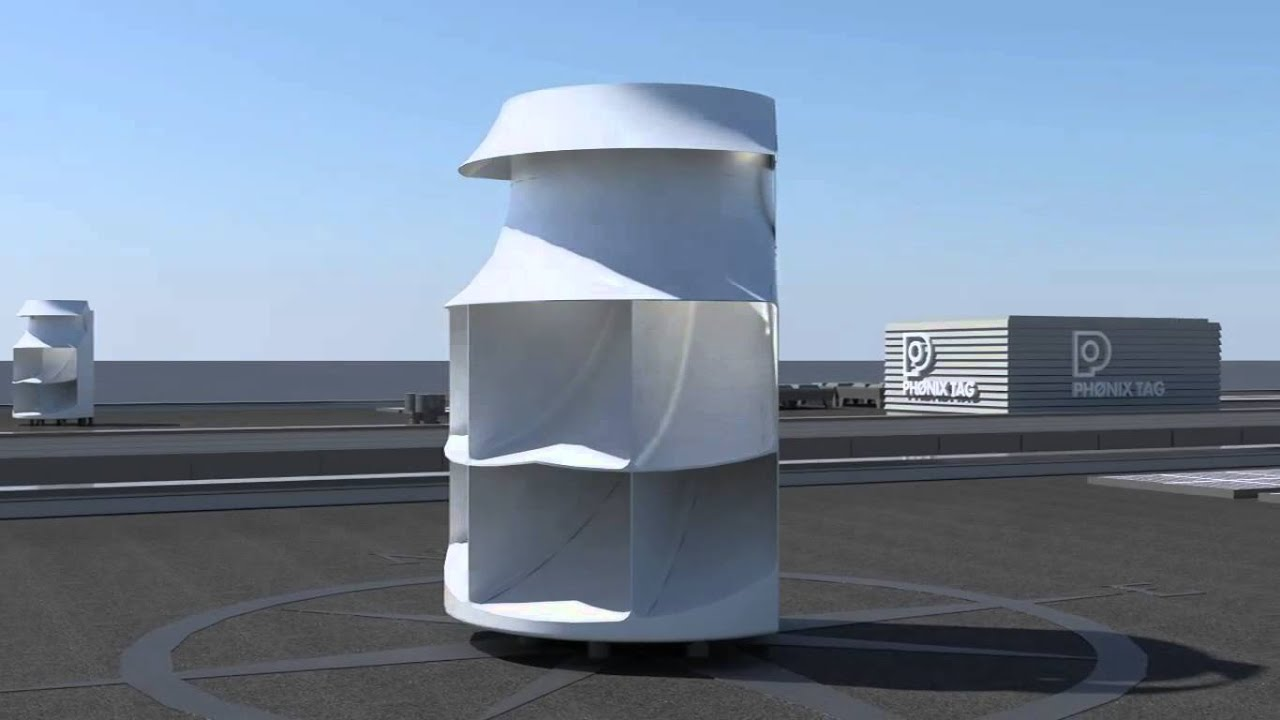 Wind Turbine Wind Heat Silence - YouTube