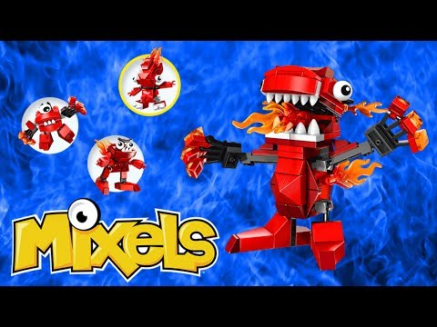 LEGO Mixels Red Infernites Build & Review & Infernites MAX