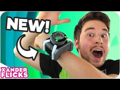Ben 10 Gets a NEW Deluxe Omnitrix! - XanderFlicks