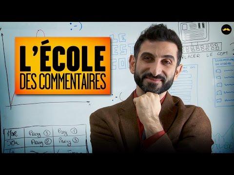 L'Ecole des Commentaires (Yacine & Dédo)