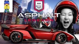 ASPHALT 9 LEGENDS CRAZY GIRL DRIVER