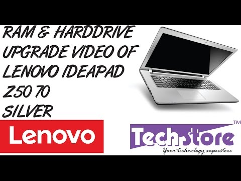How to upgrade ram and harddrive of Lenovo Z50 70 easy diy method