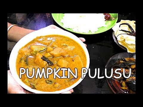 PUMPKIN PULUSU-GUMMADIKAYA PULUSU-PUMPKIN RECIPES-HEALTHY SOUTH INDIAN RECIPES