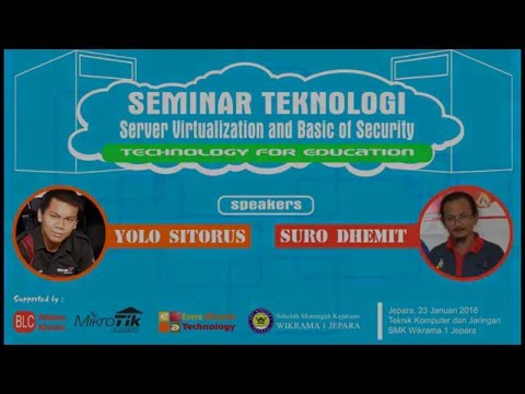 Suro Dhemit   Virtualisasi Server di Era Cloudcomputing dan Basic Network  Security