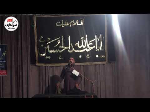 Zakir Aamir Sibtain | Majlis | 18 Safar 2017 | Qasiday And Masiab |