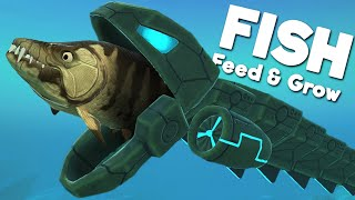 *NEW* DEADLY ROBO EEL IS AMAZING! | Feed and Grow Fish