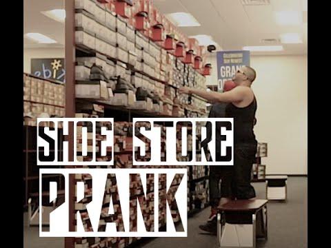 Shoe Store Prank