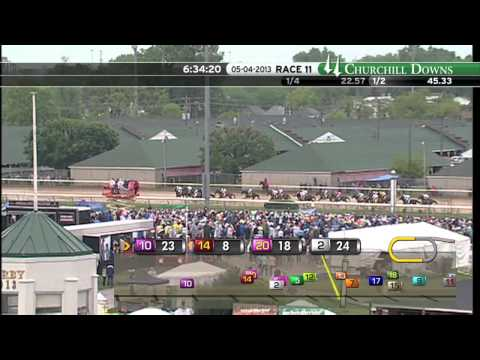2013 Kentucky Derby presented by Yum! Brands Race Replay