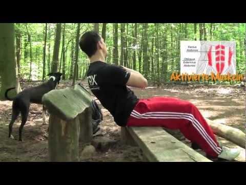 Workshop: Krafttraining in Freier Natur! mit eigenem Körpergewicht deine Kraft trainieren