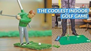 Mini Golfing Man Indoor Golf Game