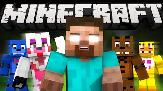 If Herobrine played FNAF World (Minecraft Machinima)