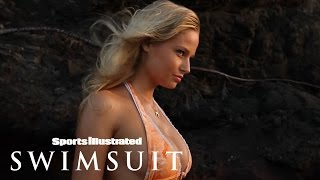 Genevieve Morton Battles The Elements In Her Swimsuit Photoshoot   Sports Illustrated Swimsuit