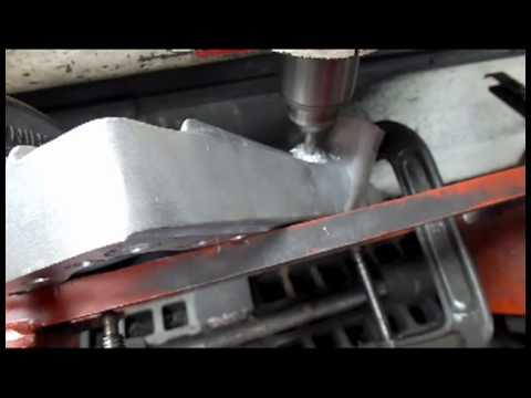 Navarro Flat Head Ford Cylinder Head Modification