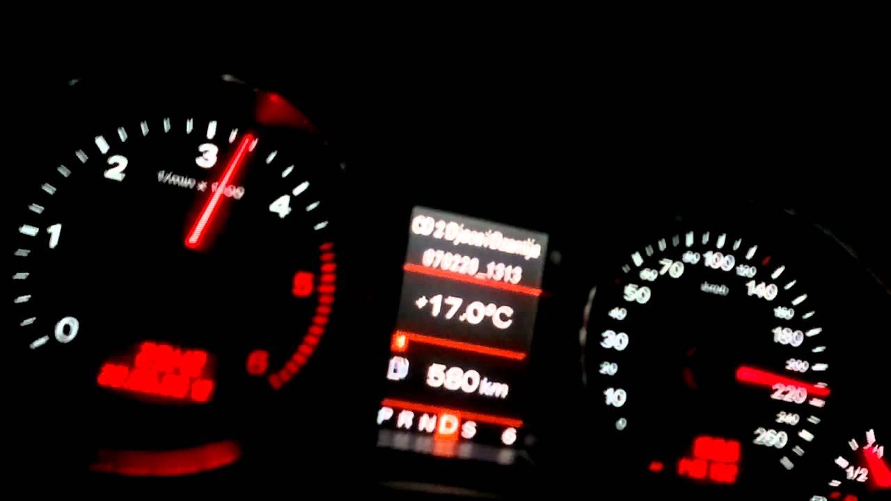 Audi q7 4.2 TDI Top Speed - YouTube