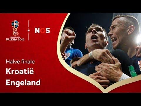 Kroatië - Engeland (halve finale) | WK 2018 | NOS