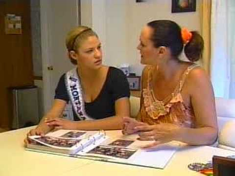News interview with Chelsea Nelson, Miss Montana Teen USA 2007