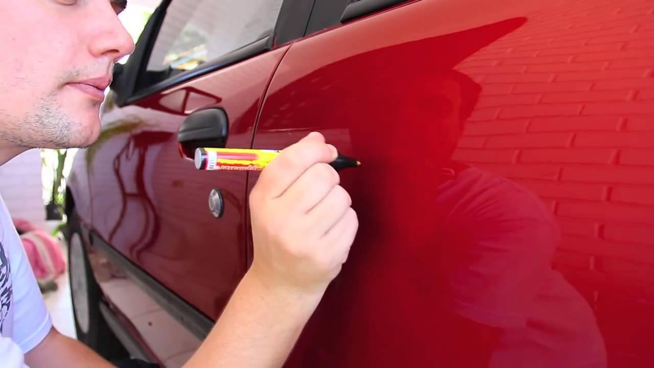 Как убрать царапину на машине своими руками до металла