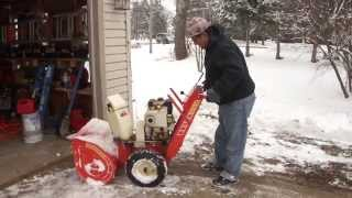 Greg Zanis Gets A Free Snowblower Some Guy
