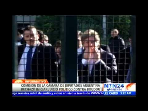 Congreso argentino le evita ir a juicio al vicepresidente procesado por delitos de corrupción