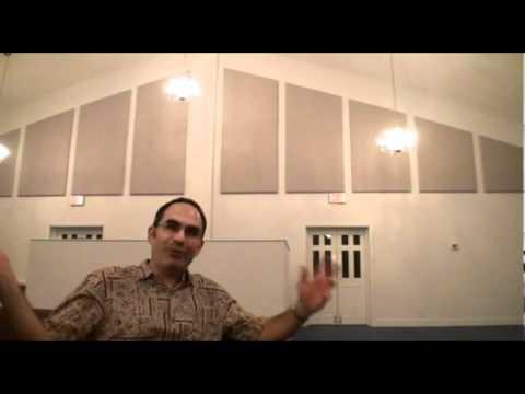 Acoustic Panels In Faith Baptist Church Youtube