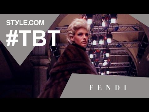 Karl Lagerfeld's Hippies in Fur at Fendi, Fall 1991 - #TBT With Tim Blanks - Style.com