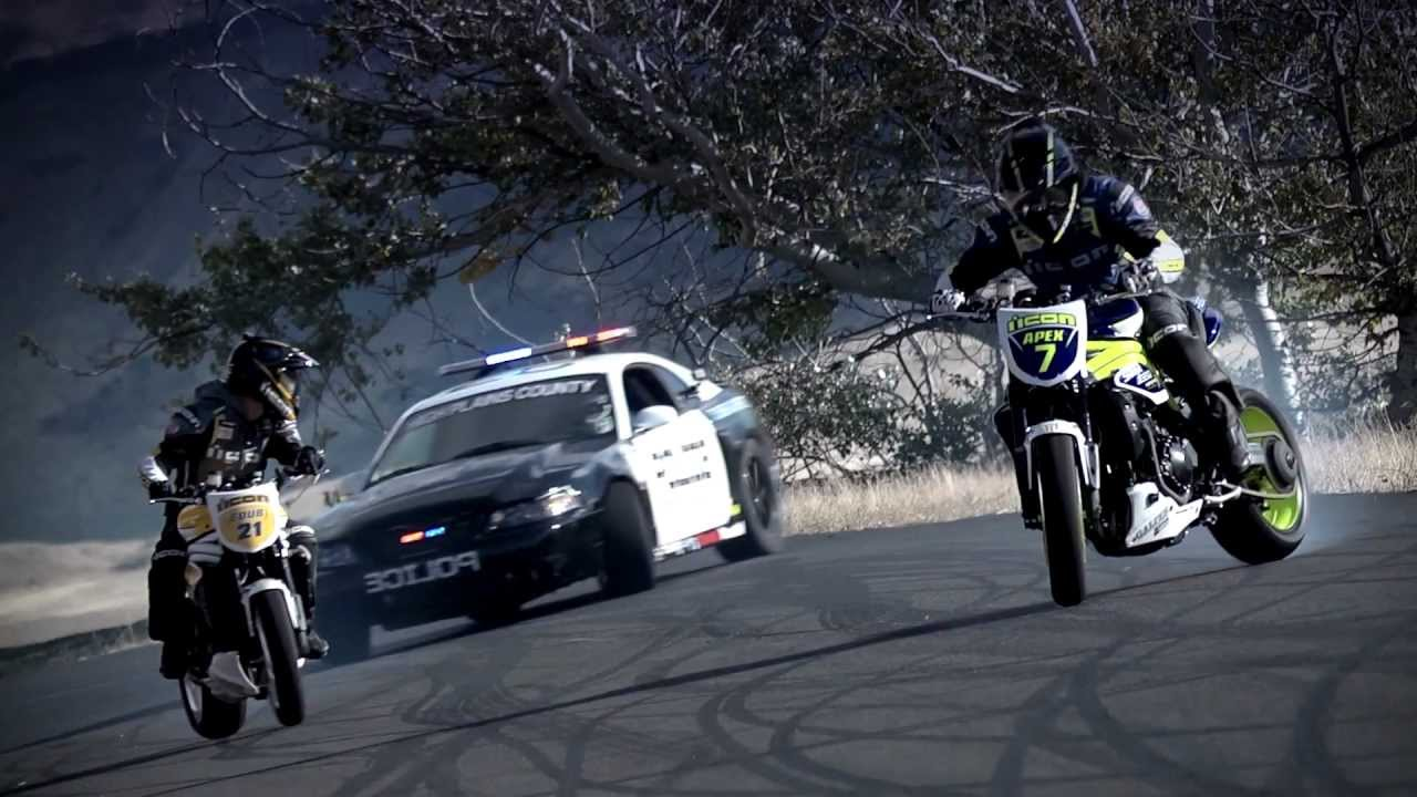 Dirt Bikes Vs Cops Police chase bikes incredible