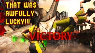 MKX Mobile. HARD Punk Cassie Cage Challenge. SHE STILL DIDN'T PUNCH ME IN THE NUTS!