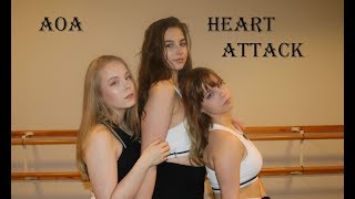 AOA - Heart attack cover by Serenity