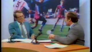 Gary Newbon & Jimmy Greaves Footbal argument Central TV (1983)