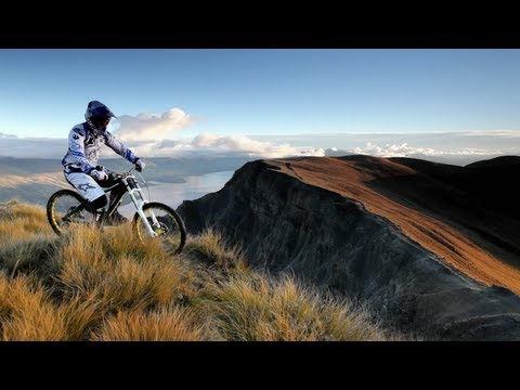 Mountain Bike Downhill in NZ - Brook MacDonald 2012