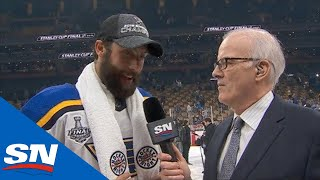 Bortuzzo Discusses Scoring Big Goals During Blues' Cup Run