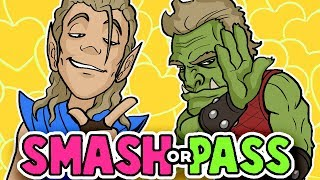 SMASH or PASS - FANTASY RACE Edition?! - Random Character Designs