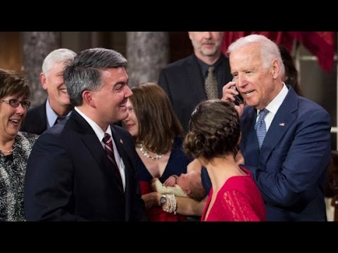 Best of Joe Biden during Senate swearing in ceremony