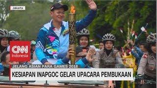 Kesiapan INAPGOC Gelar Upacara Pembukaan Asian Para Games 2018