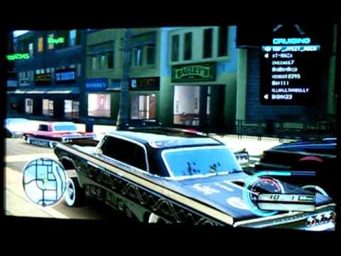 Midnight Club Los Angeles (custom cars) TOP NOCH Low Rider edition vol1