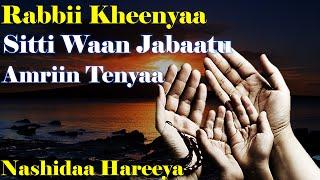 Rabbii Kheenyaa - Abdurahmaan Hussein | NEW Nashidaa Afaan Oromo