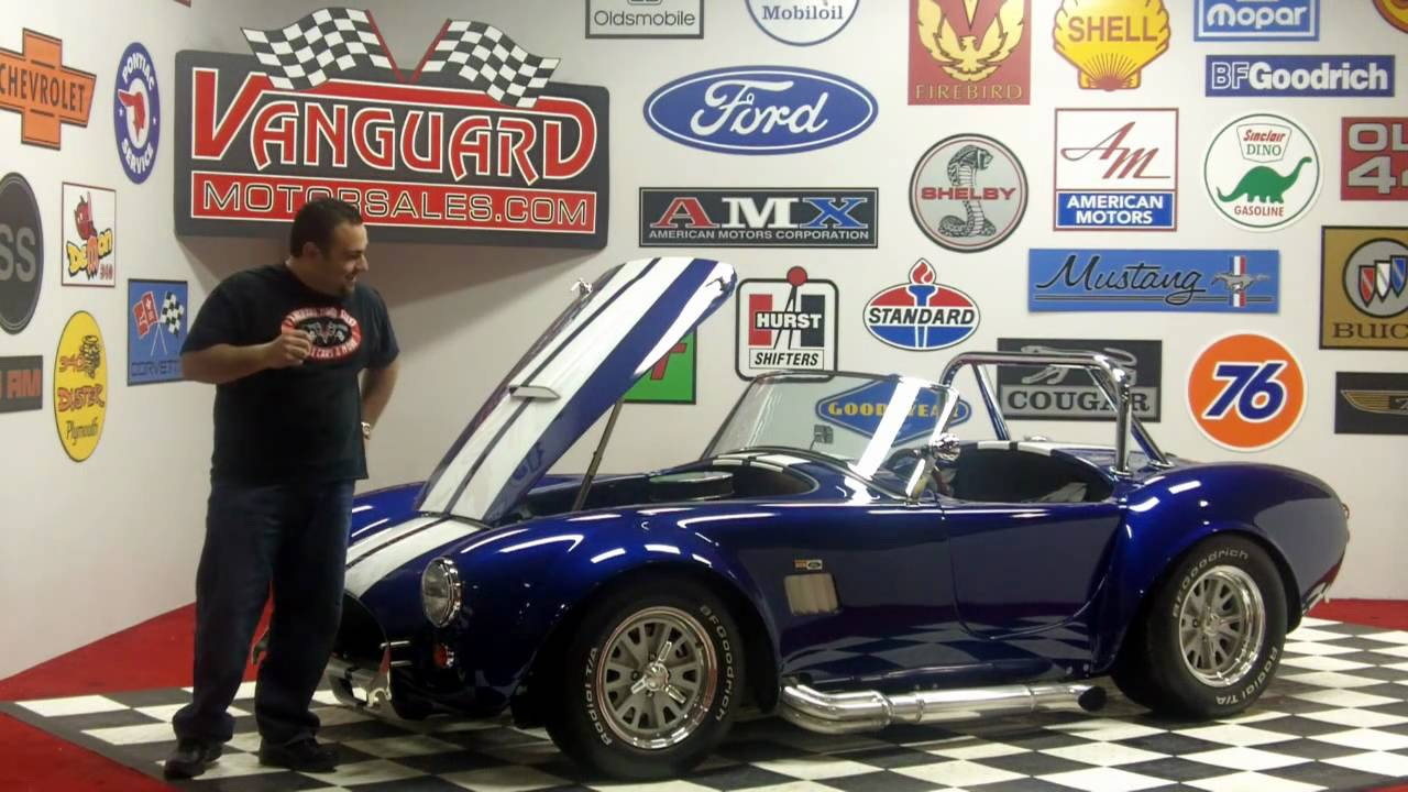 1965 Shelby Cobra Replica Classic Muscle Car For Sale In Mi Vanguard Motor Sales Youtube