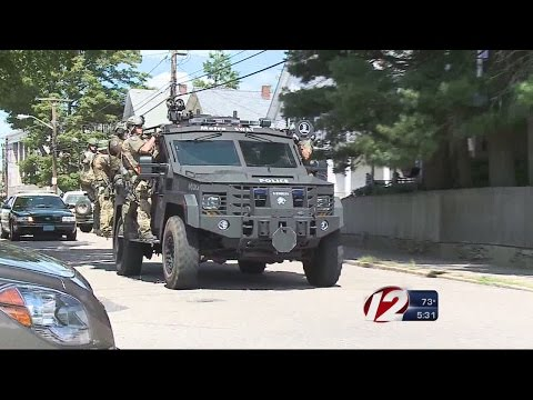 Police, SWAT Team Swarm Attleboro Apartment Building