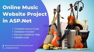 Online Music Songs Website Project ASP Net With C Net And Sql Server VideoMp4Mp3.Com