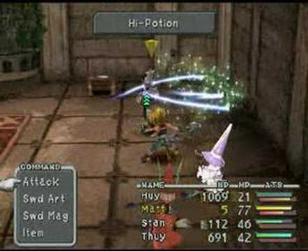 Final Fantasy IX - Beatrix Battle 3
