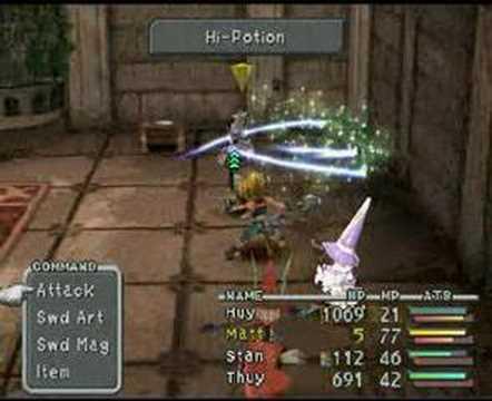 Final Fantasy IX - Beatrix Battle 3