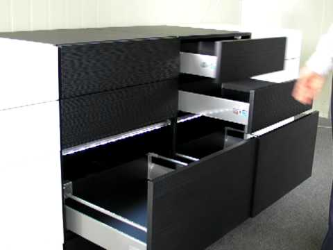 Electric drawer automatic drawer opening system interior design ideas kitchens youtube Handleless kitchen drawers design